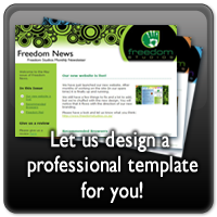 Choose from dozens of free templates